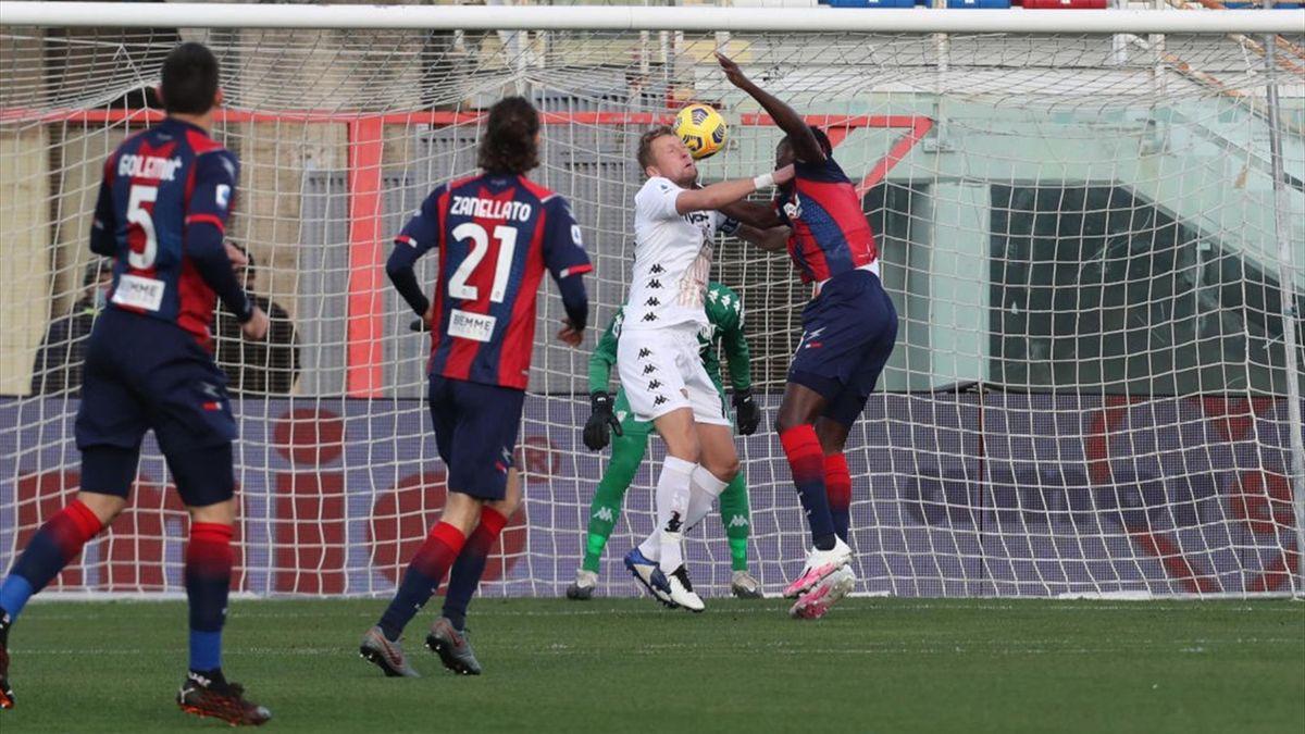 Glik e Simy - Crotone-Benevento - Serie A 2020-2021