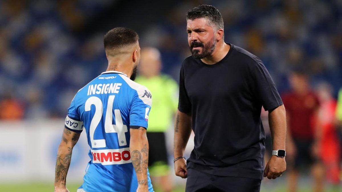 Lorenzo Insigne e Gennaro Gattuso