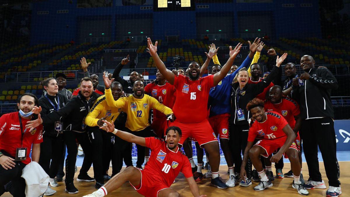 Congo - Angola, Campionatul Mondial de handbal masculin