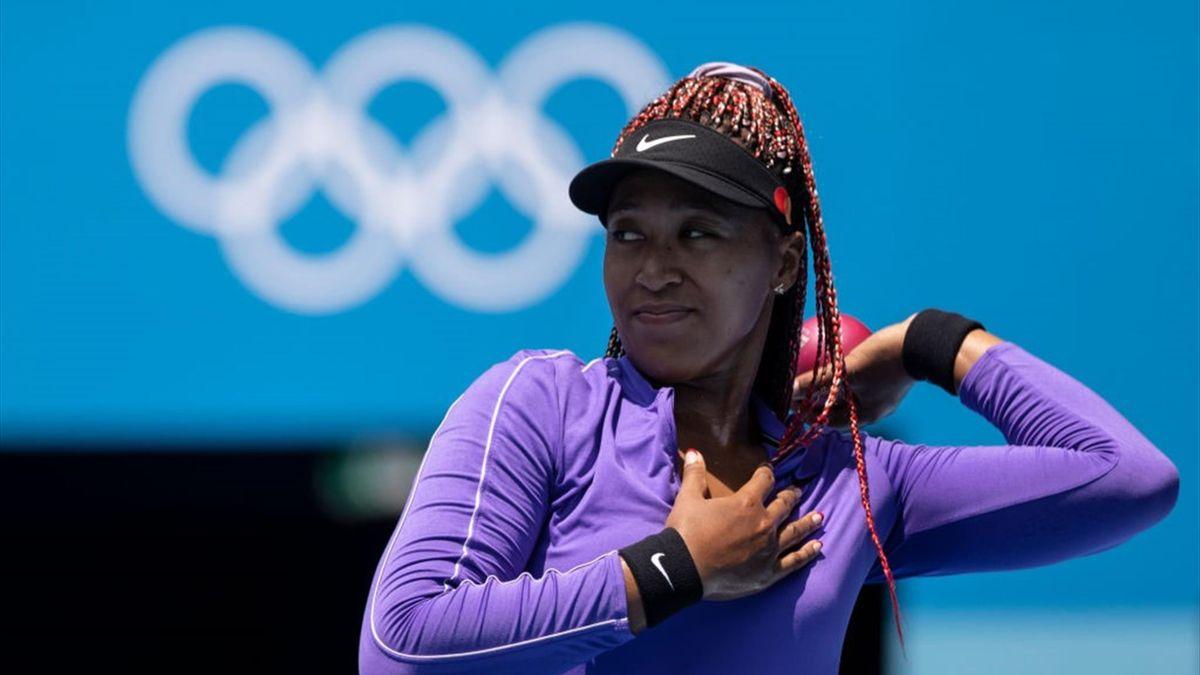 Naomi Osaka ai Giochi Olimpici di Tokyo 2020