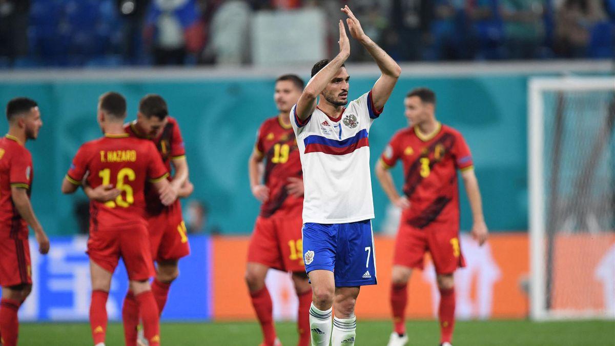 Магомед Оздоев, Россия – Бельгия, Евро-2020