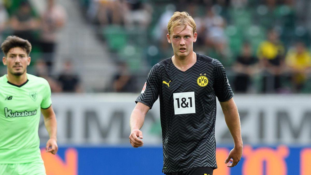 Julian Brandt überzeugte beim BVB noch nicht vollumfänglich
