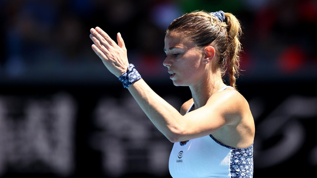 Camila Giorgi, Australian Open 2020