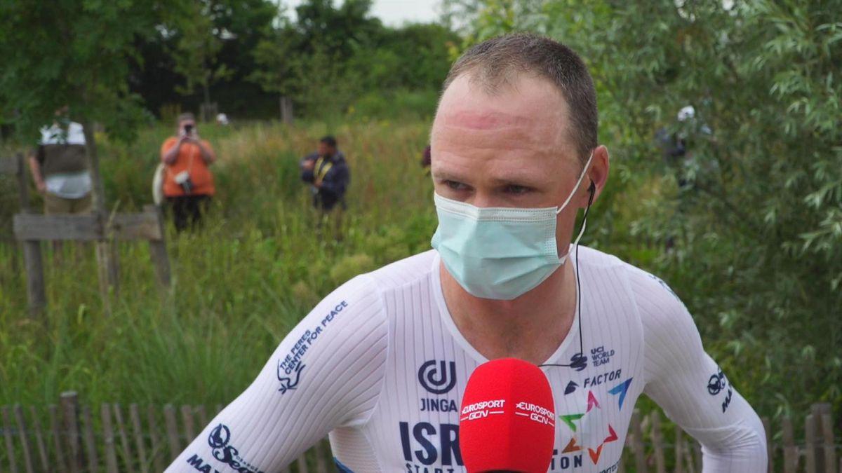 'I've got big bruising' - Froome on injuries after horror crash