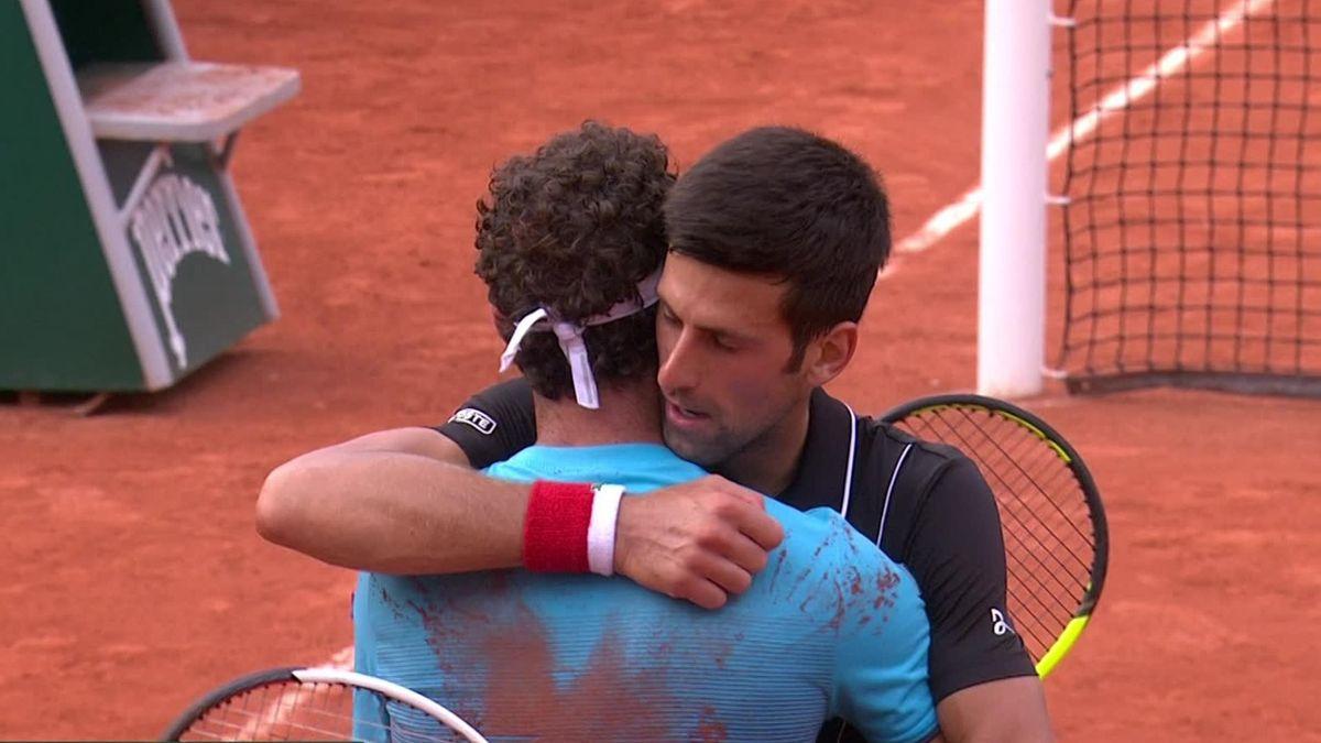 highlights Djokovic - Cecchinato