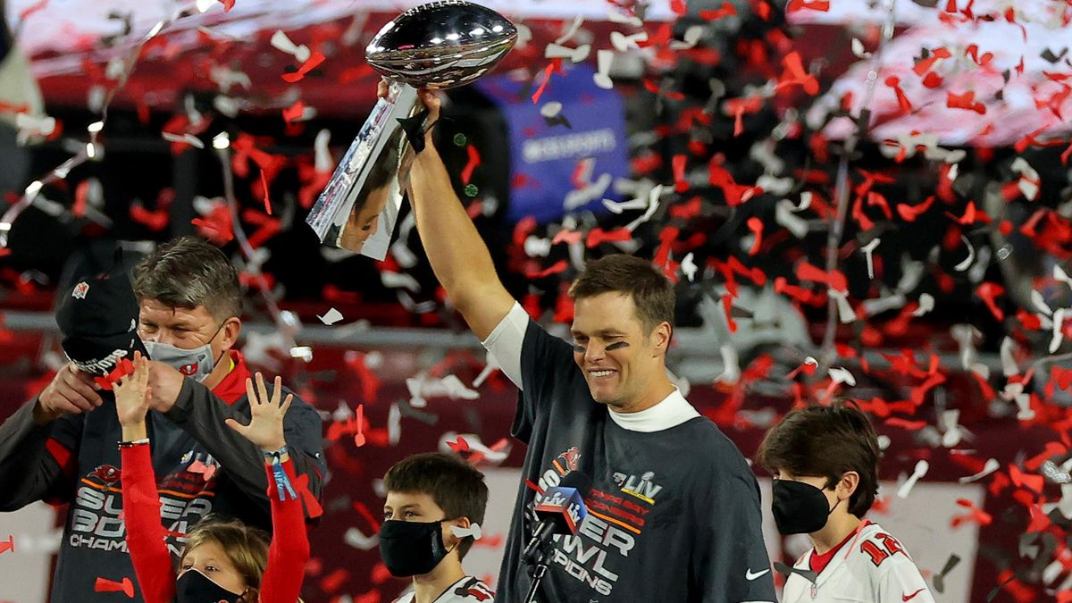 Tom Brady wins a Super Bowl LV
