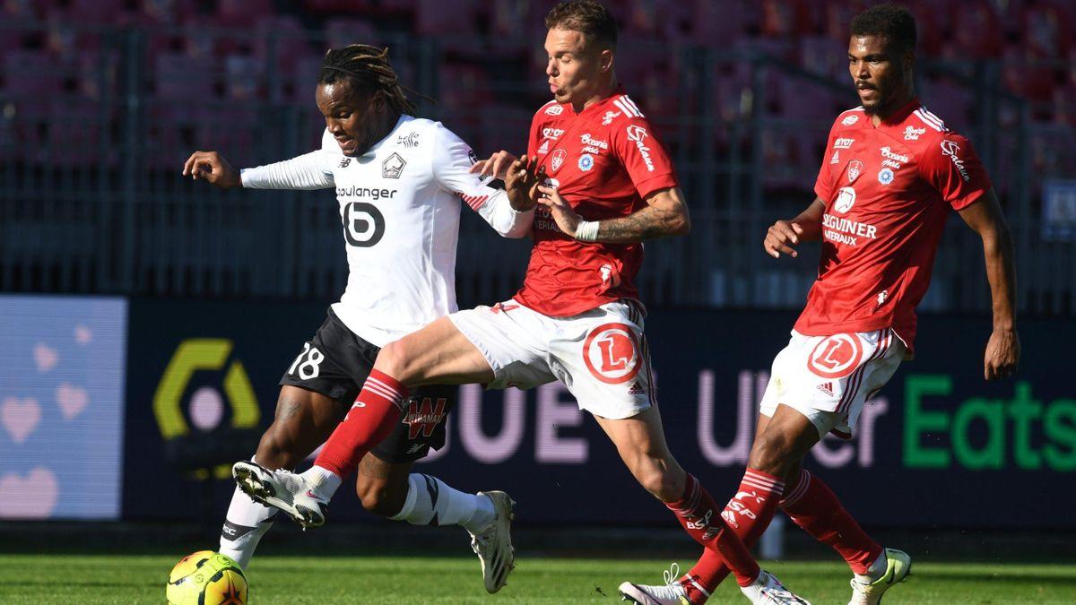 Renato Sanches (Lille) against Brest - Ligue 1