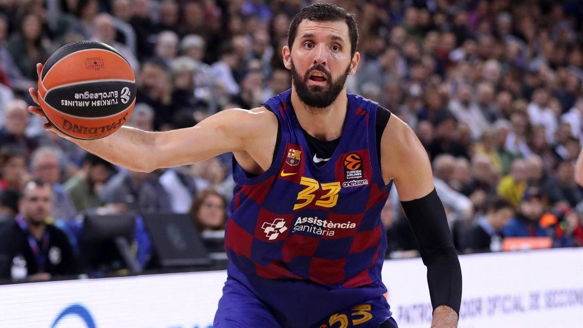 Nikola Mirotic, jugador del FC Barcelona