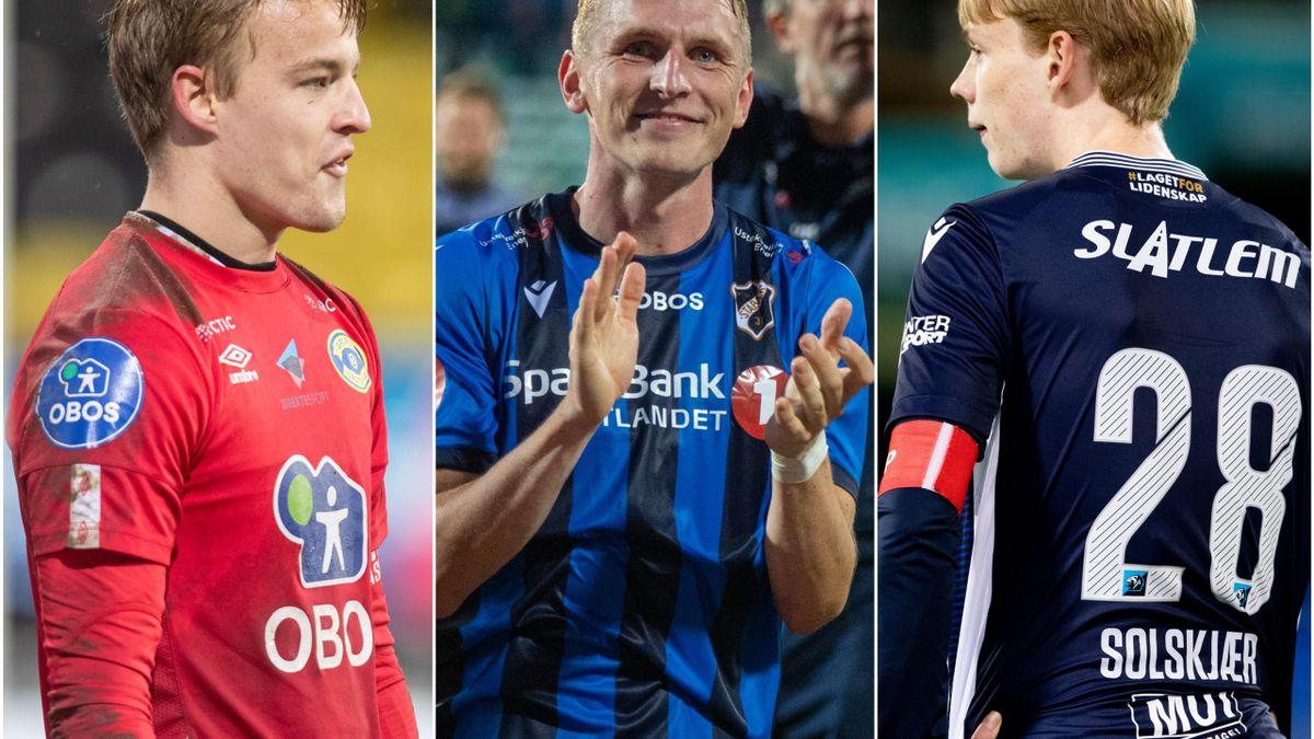 Emil Ødegaard, Martin Høyland og Noah Solskjær