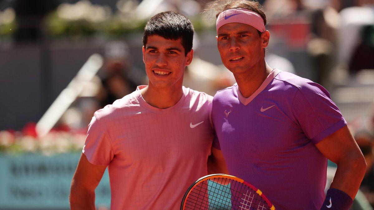Carlos Alcaraz & Rafael Nadal