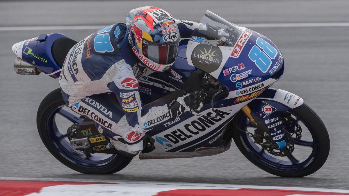 Jorge Martin (Del Conca Gresini - Honda) au Grand Prix de Malaisie 2018