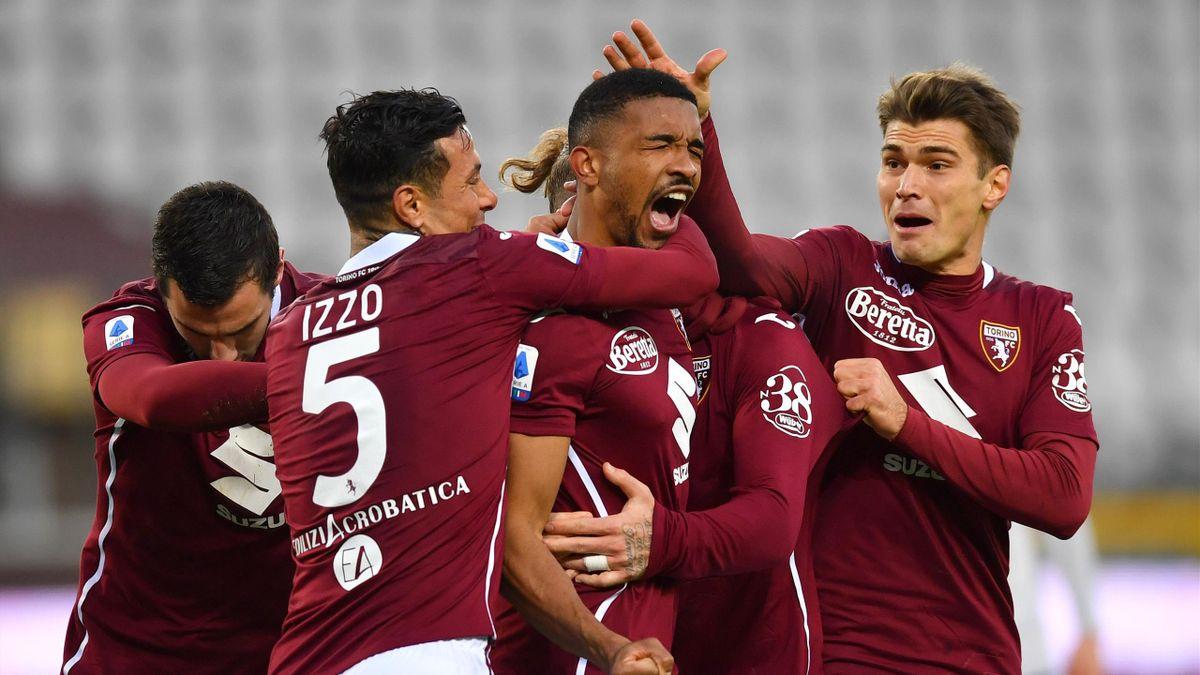 Bremer esulta per il gol segnato, Torino-Verona, Serie A 2020-21, Getty Images