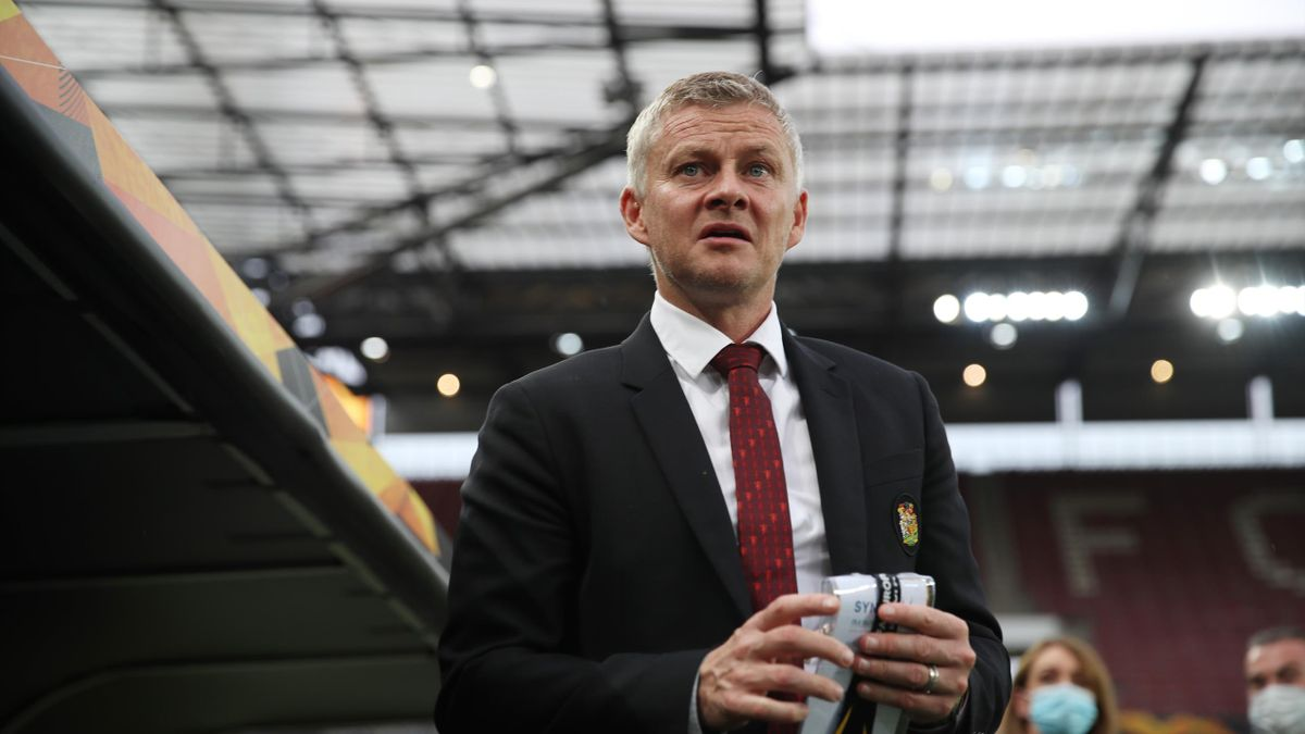 Ole Gunnar Solskjaer, Manager of Manchester United is seen inside the stadium prior to the UEFA Europa League Semi Final between Sevilla and Manchester United