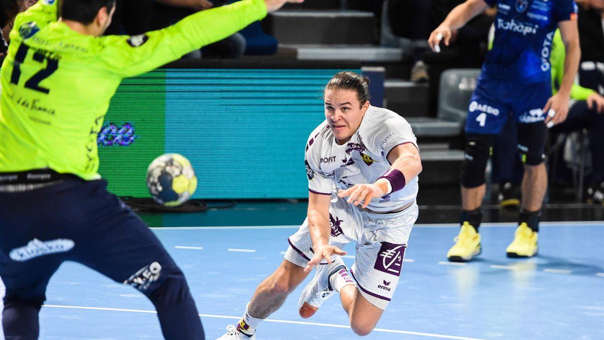 Le handballeur nantais Sebastian Augustinussen.