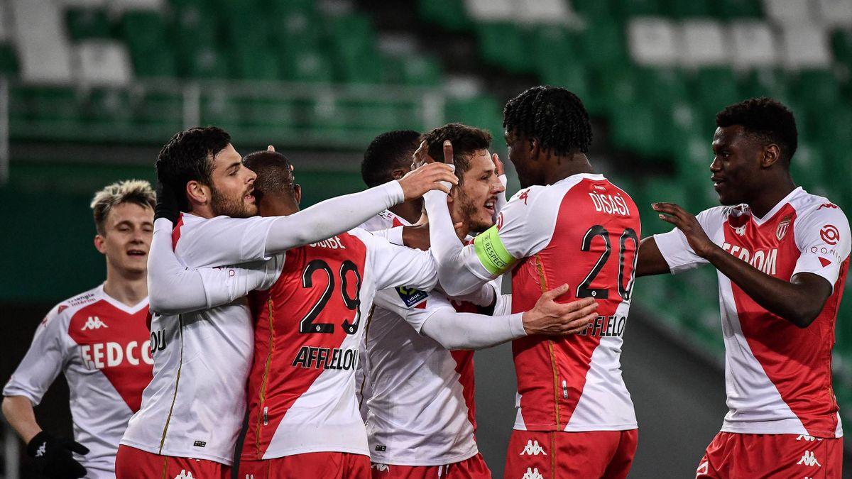 Les joueurs de l'AS Monaco rêvent plus haut après leur retentissant succès à Saint-Etienne