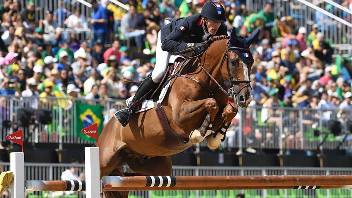 On the record for 100 Days to go: Equestrian jumping team final in Rio