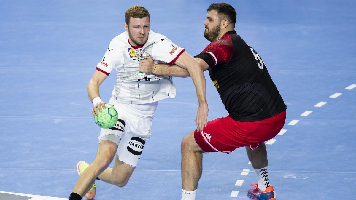 Philipp Weber im Länderspiel gegen Österreich