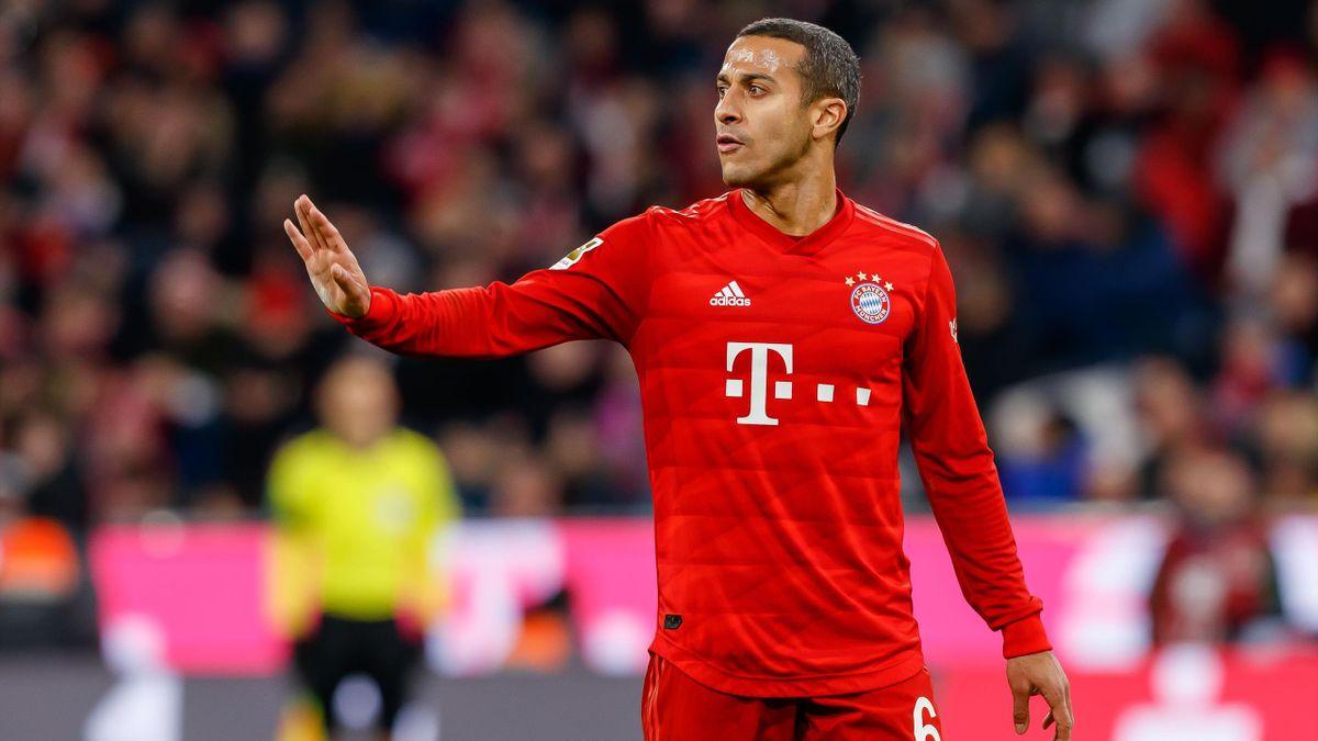 Um Bayern-Star Thiago halten sich hartnäckige Abschiedsgerüchte