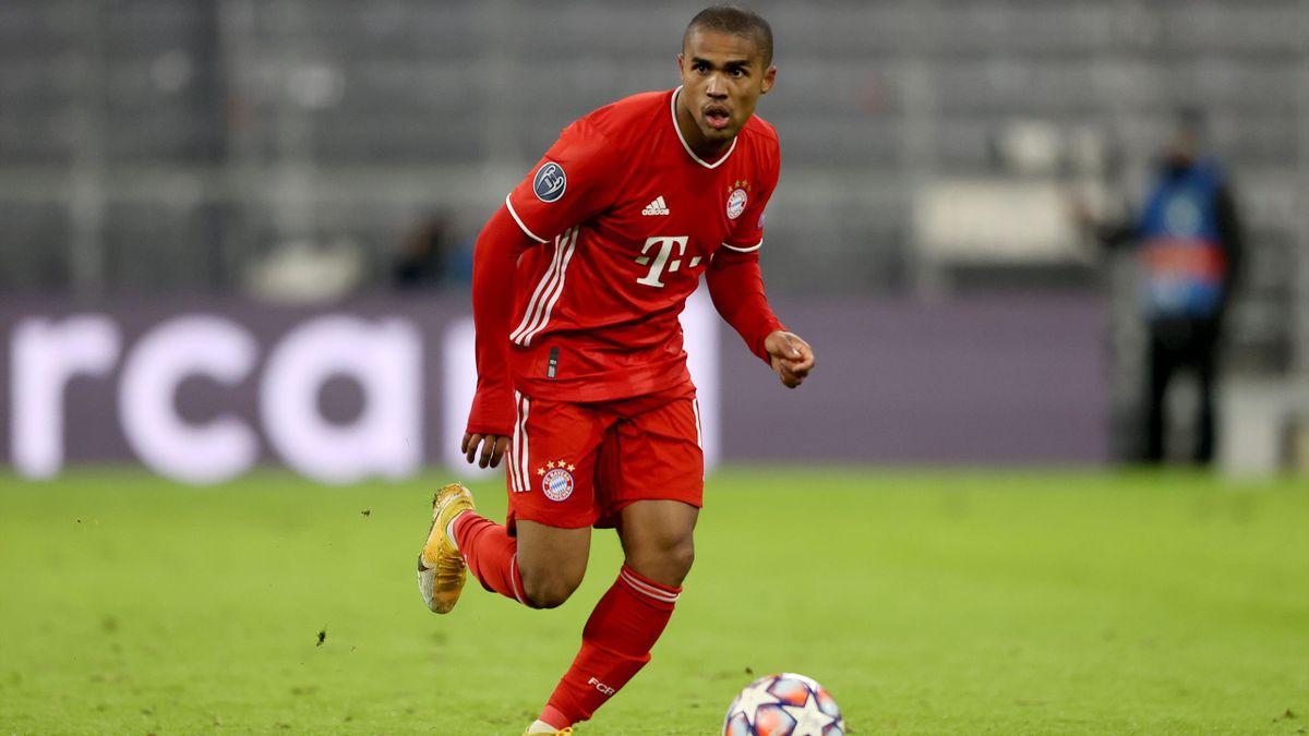 Douglas Costa vom FC Bayern München steht vor seinem Comeback
