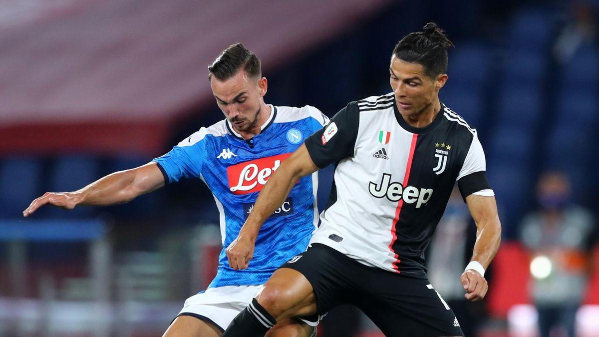 Juventus-Napoli, Ruiz vs Ronaldo
