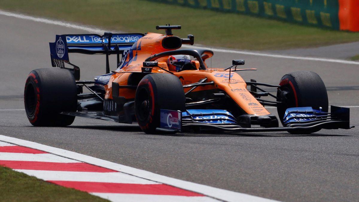 Carlos Sainz (McLaren), en el Gran Premio de China 2019