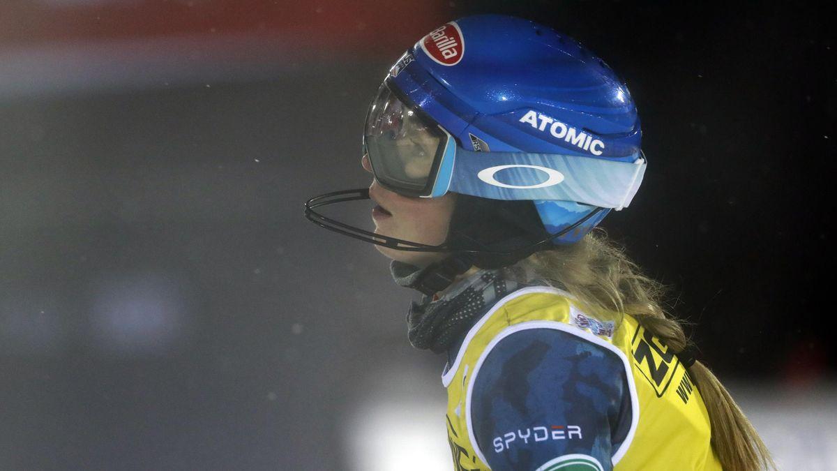 Mikaela Shiffrin fuhr in Levi auf die Ränge zwei und fünf