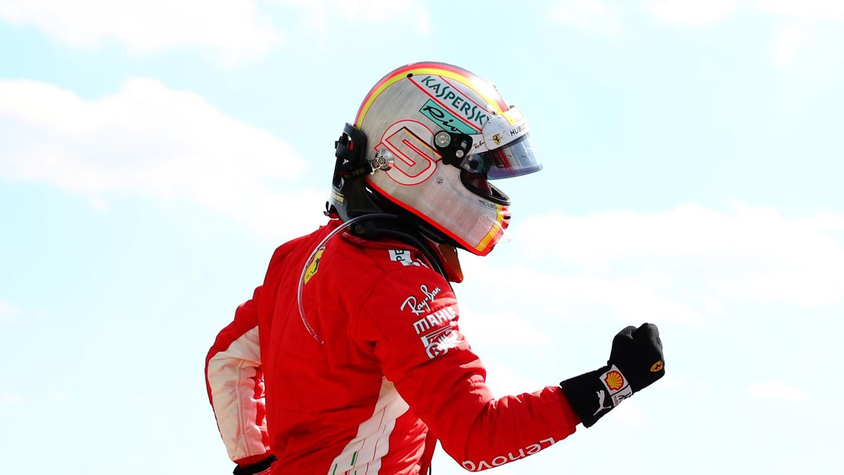 Sebastian Vettel (Ferrari) - GP of Great Britain 2018