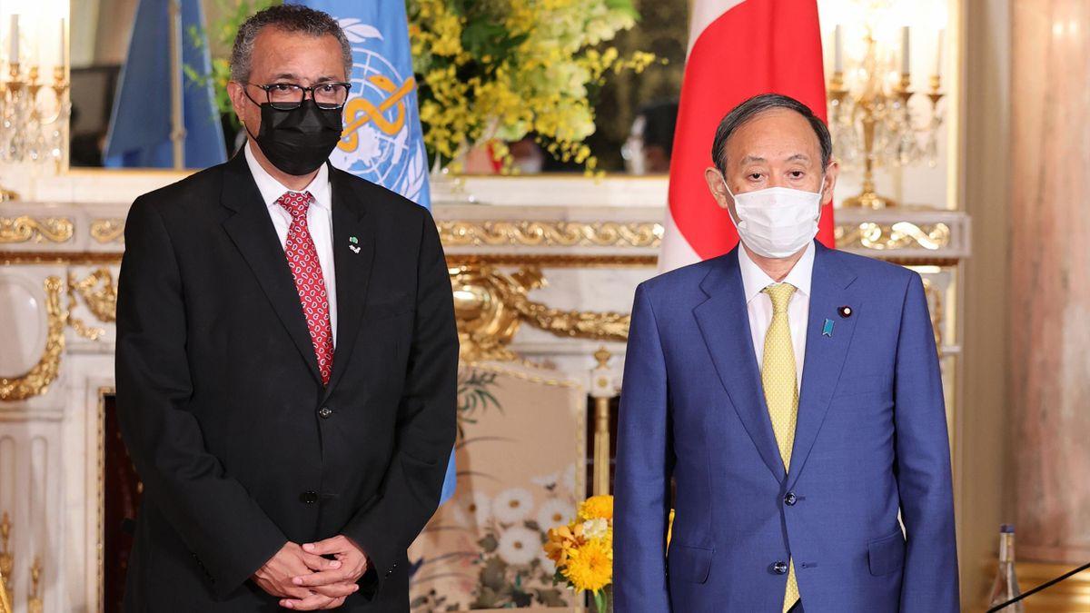 El Director General de la OMS muestra su total apoyo a Tokio 2020