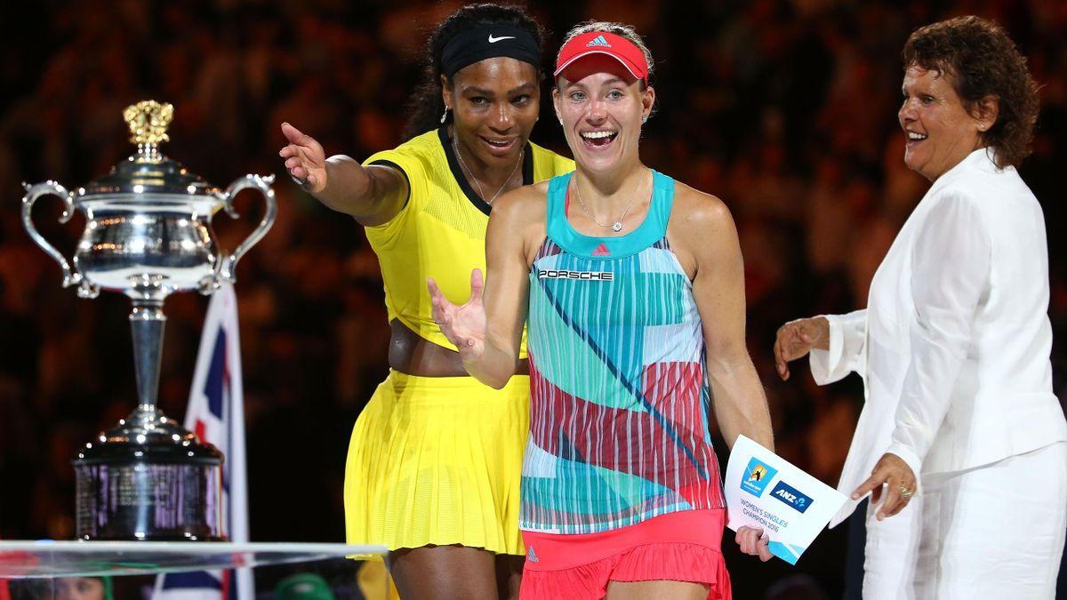 Serena Williams - Angelique Kerber - Australian Open 2016
