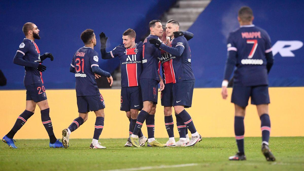 Icardi, Di Maria - PSG-Best - Ligue 1 2020/2021 - Imago pub not in FRA
