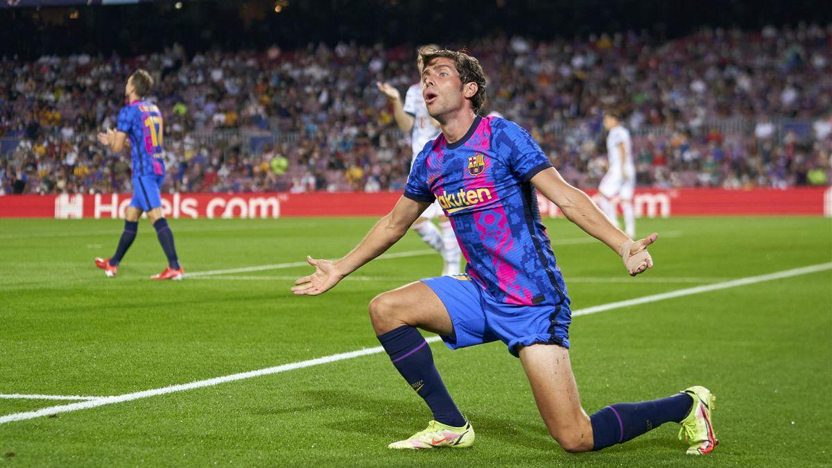 Sergi Roberto und der FC Barcelona unterlagen dem FC Bayern 0:3