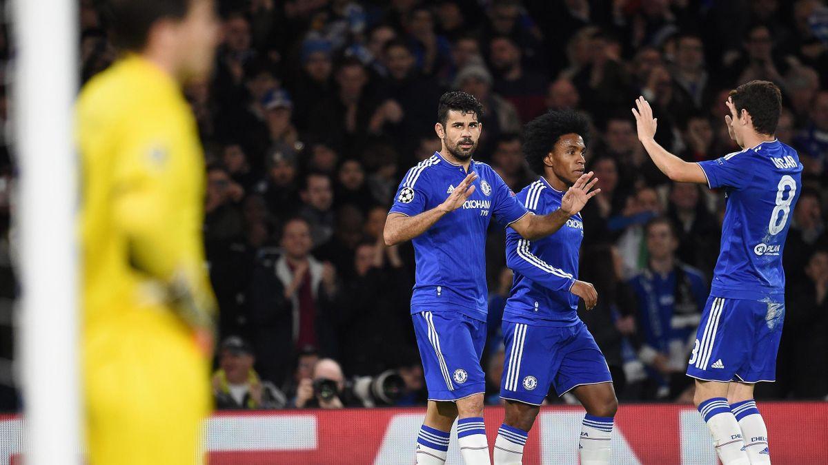 Der FC Chelsea Schl U00e4gt Den FC Porto In Der Champions