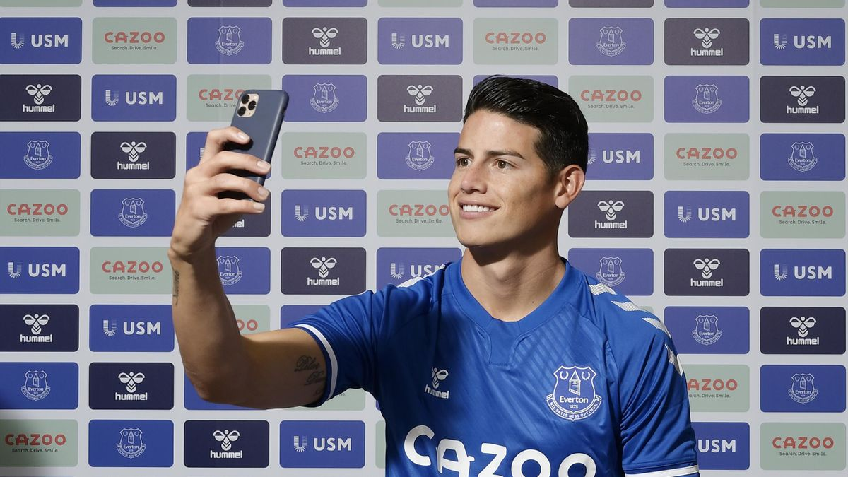 James Rodriguez à Everton