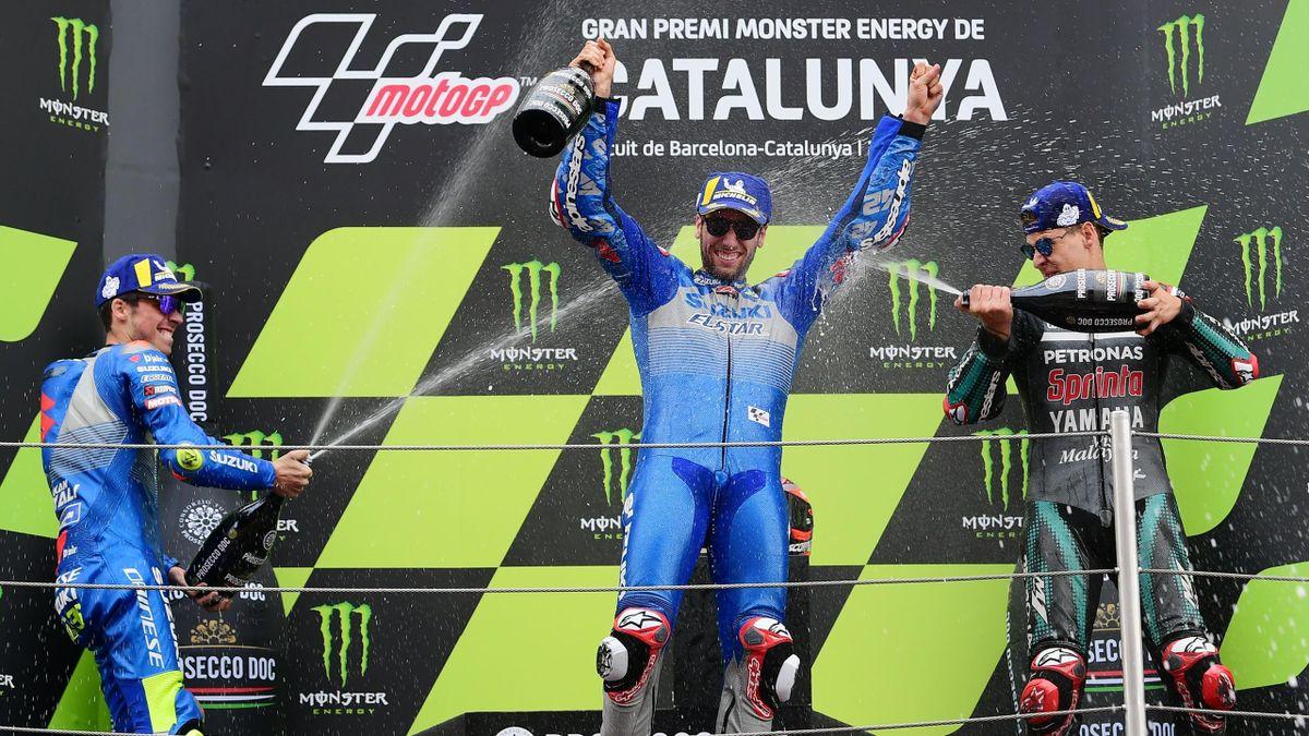 Fabio Quartararo (Yamaha). GP Cataluña MotoGP