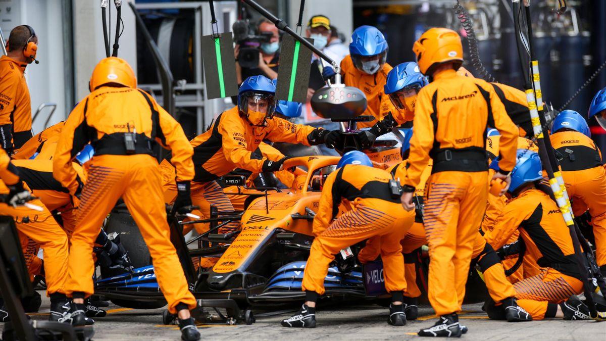 Carlos Sainz (McLaren). GP Estiria 2020