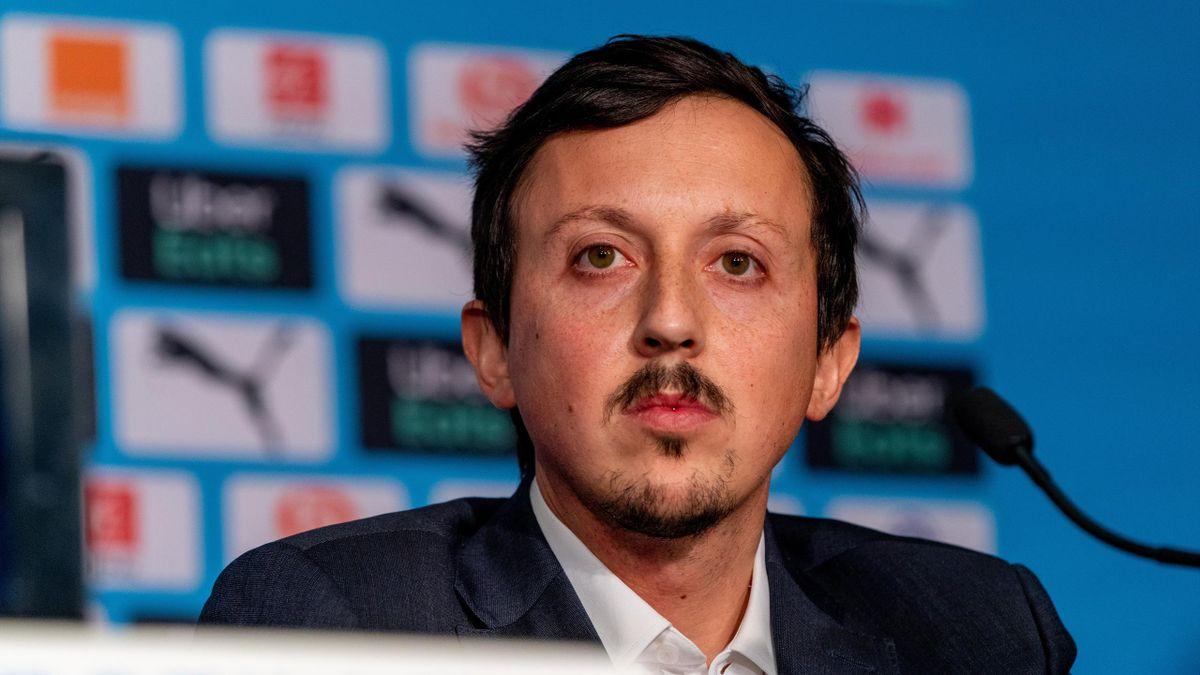 Pablo Longoria, le directeur du football à l'OM