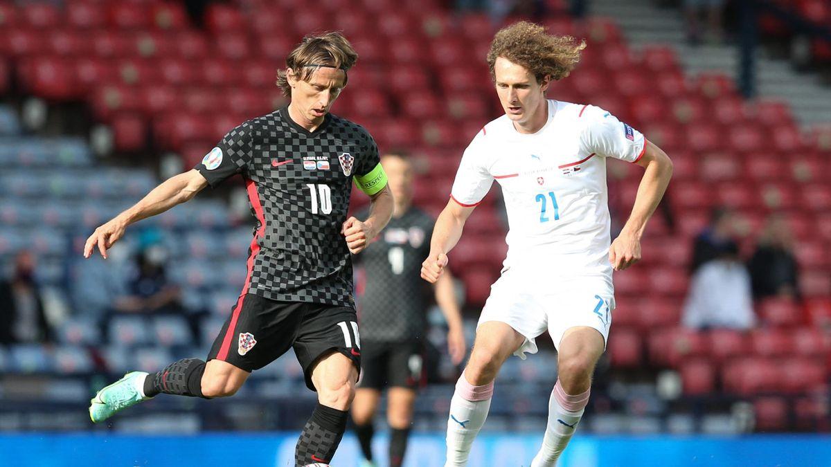 Croatia v Czech Republic, Luka Modric, Alex Kral