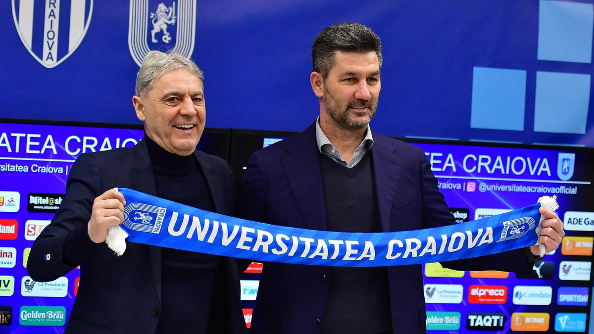 Marinos Ouzounidis a fost prezentat oficial la Universitea Craiova