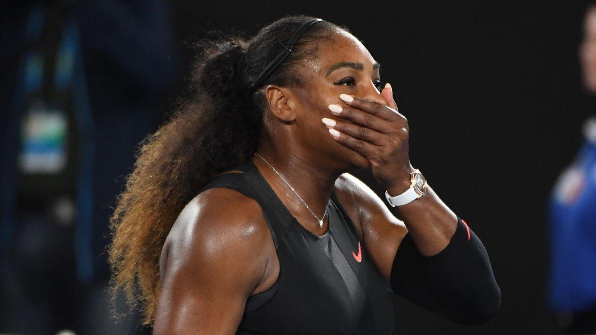 Serena Williams kann ihr Glück nach dem Final-Sieg nicht fassen