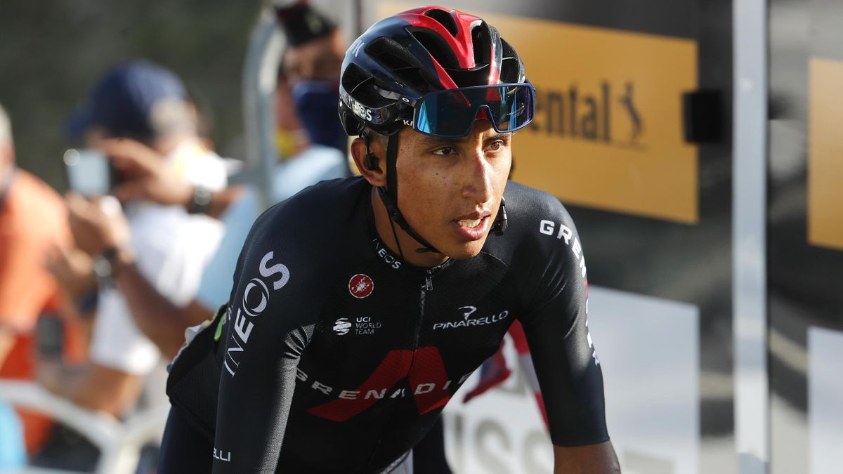 Egan Bernal am Grand Colombier