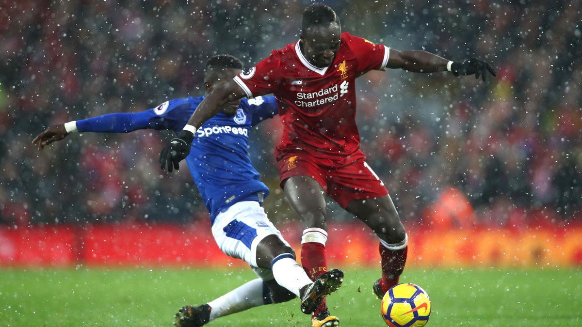 FC Liverpool FC Everton Sadio Mané