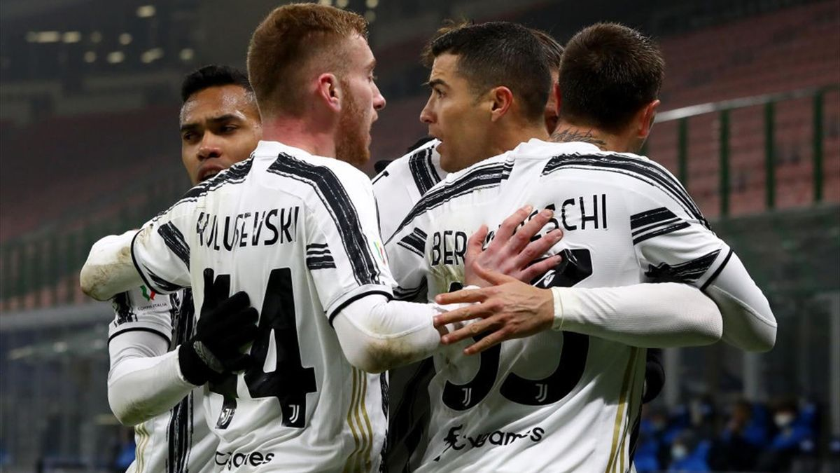 Cristiano Ronaldo - Inter-Juventus - Coppa Italia 2020/2021 - Getty Images