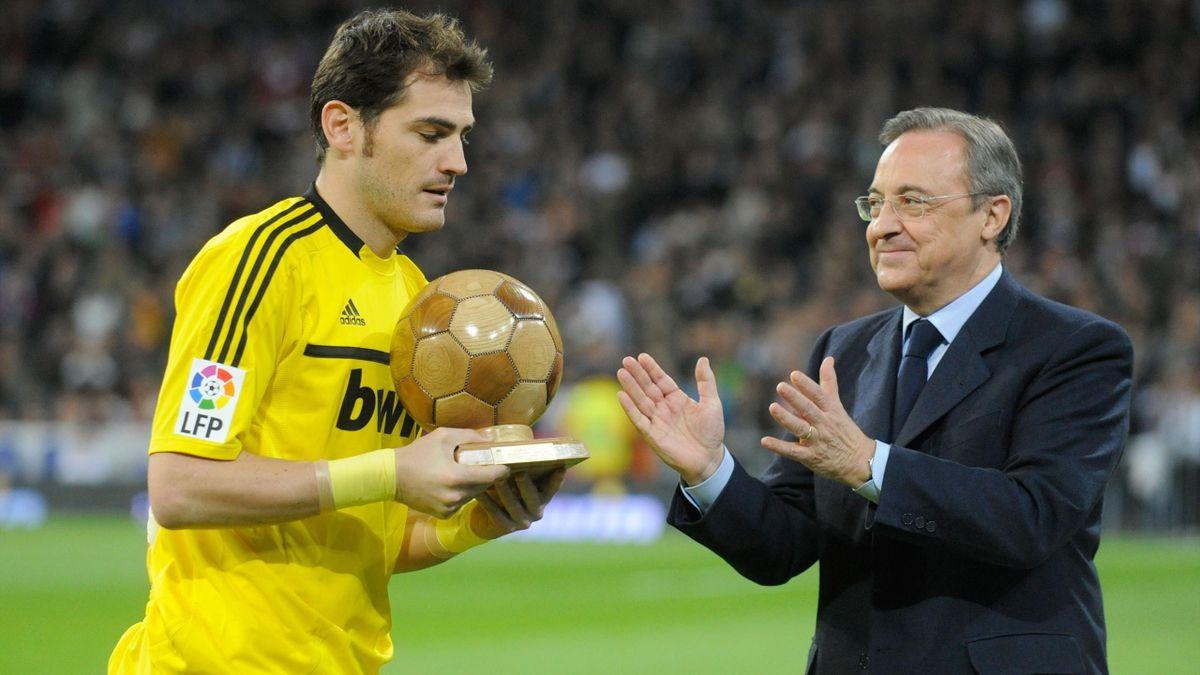 Iker Casillas Florentino Pérez