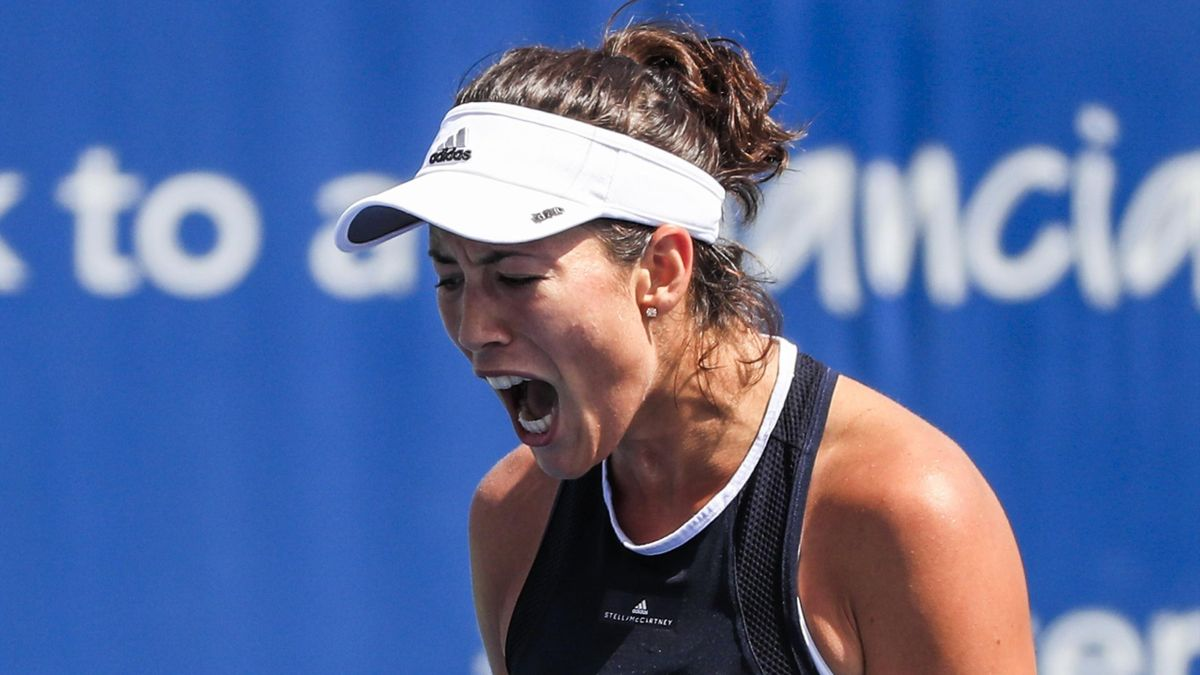 Garbiñe Muguruza vs. Kuznetsova | WTA Cincinnati