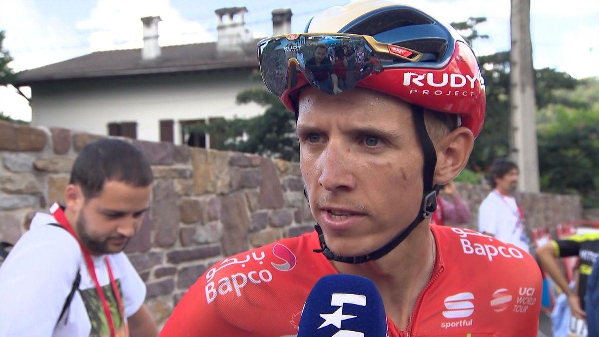 Vuelta a Espana - Stage 11 - Interview Dylan Teuns NL
