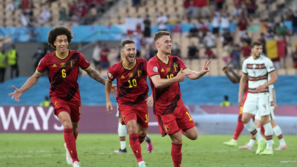 Thorgan Hazard, Belgium v Portugal - UEFA Euro 2020