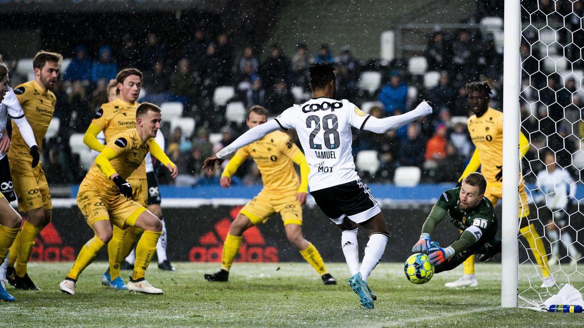 Rosenborg - Bodø/Glimt på Lerkendal Stadion (3-2) i november 2019.