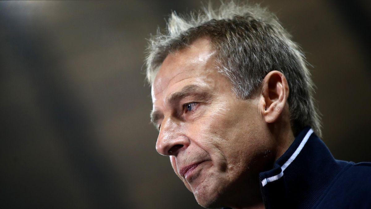 Jürgen Klinsmann trainierte Hertha BSC von November 2019 bis Februar 2020