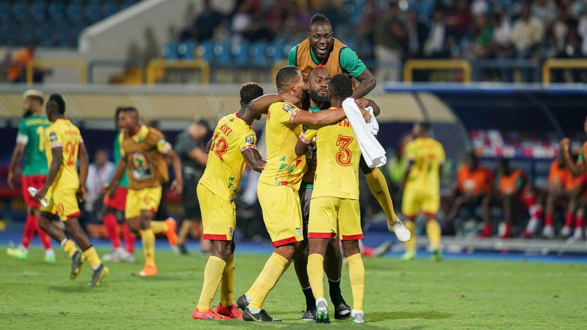Benin celebrate