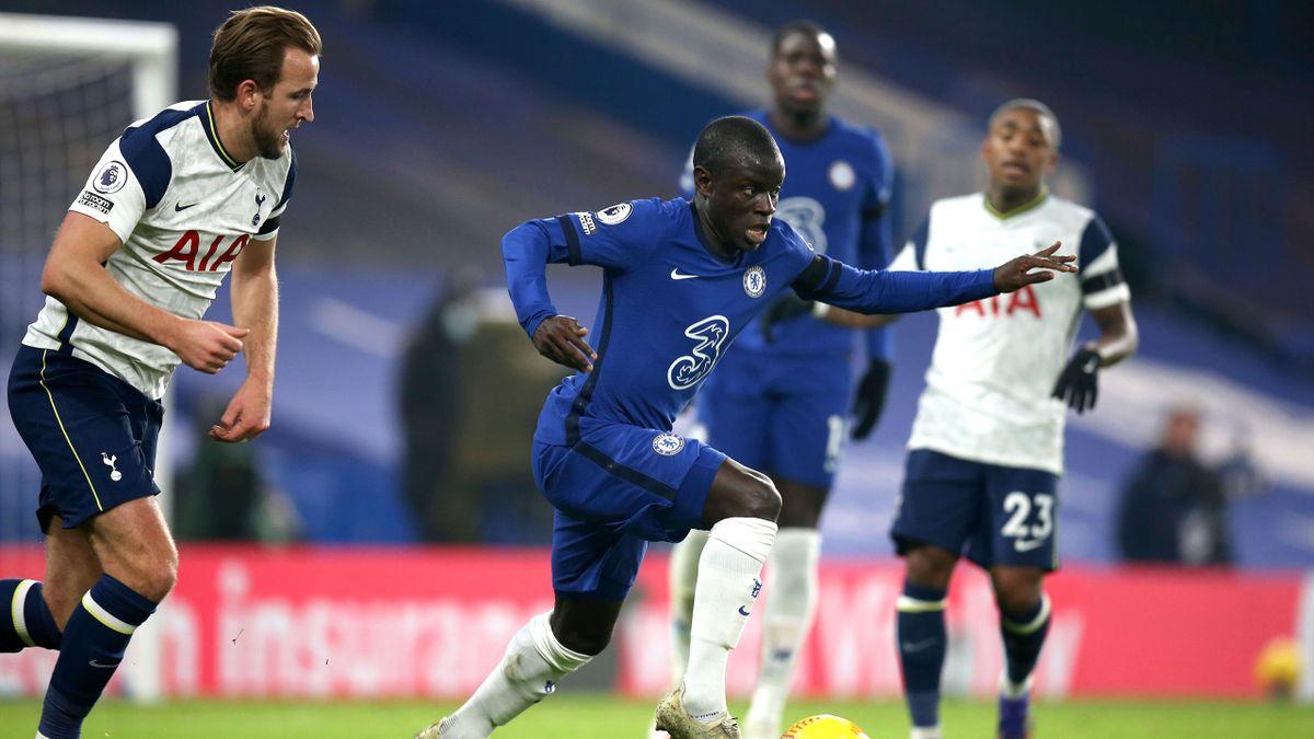 N'Golo Kante a fost cel mai bun om de pe teren la Chelsea - Tottenham 0-0